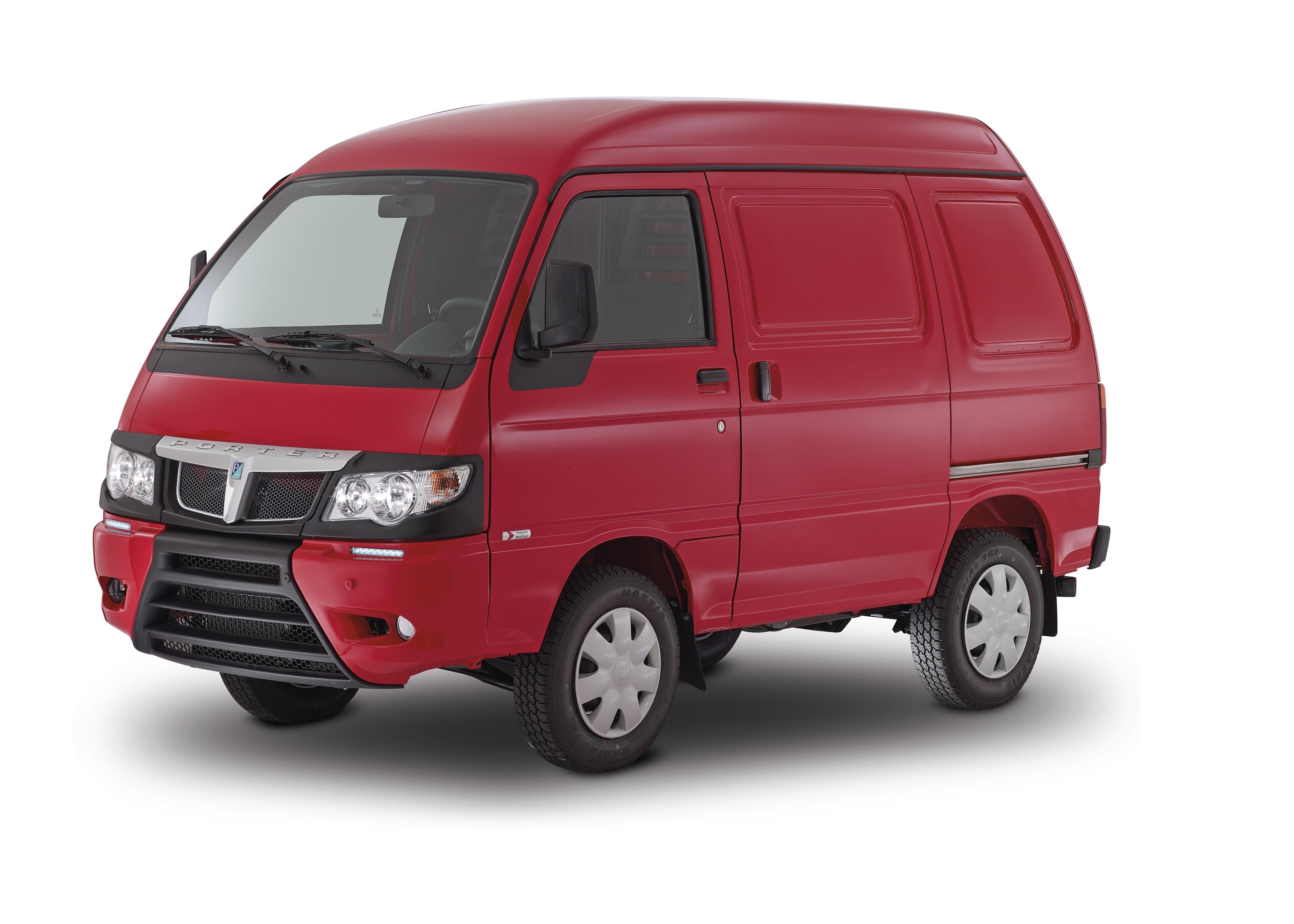2016 Camper Van >> Piaggio Porter | Co Borst
